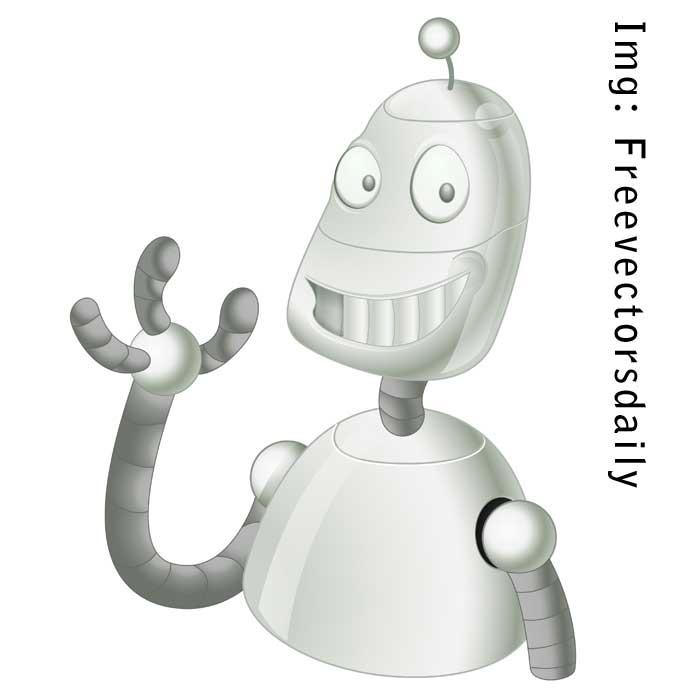 robo-by-freevectorsdaily